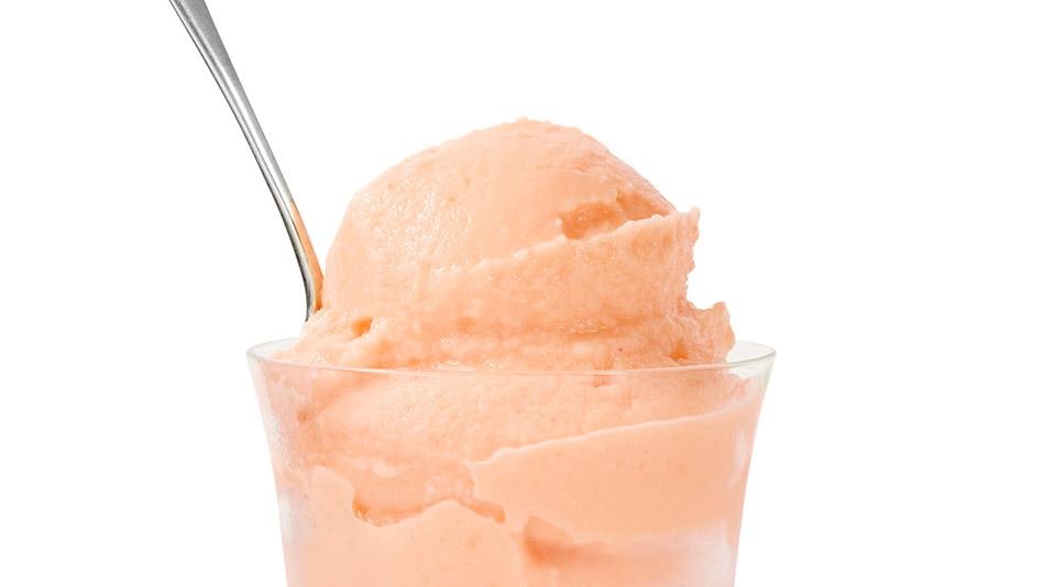 Peach Frozen Yogurt Recipe — Dishmaps