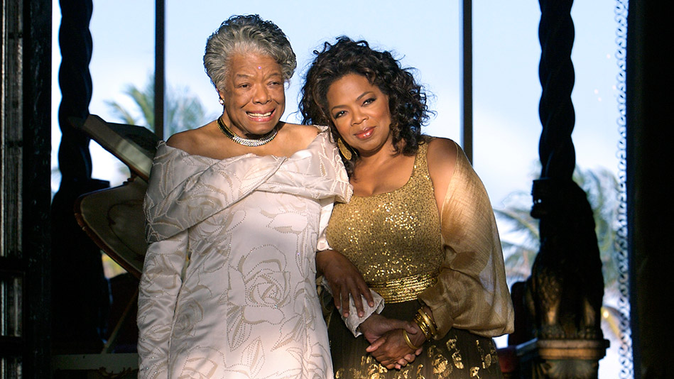 Image result for maya angelou oprah