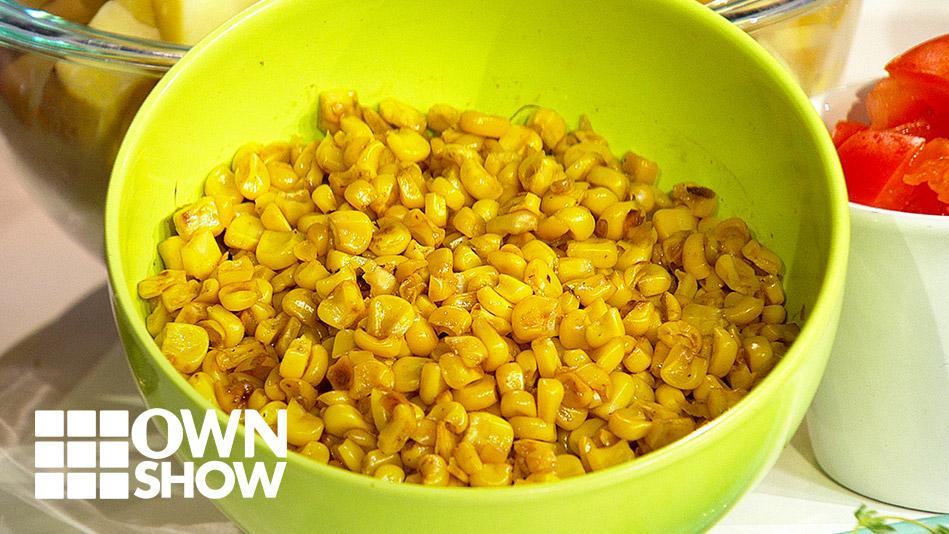 Corn Potato Salad