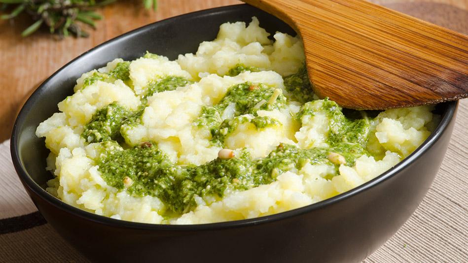 Mashed potato mix-ins
