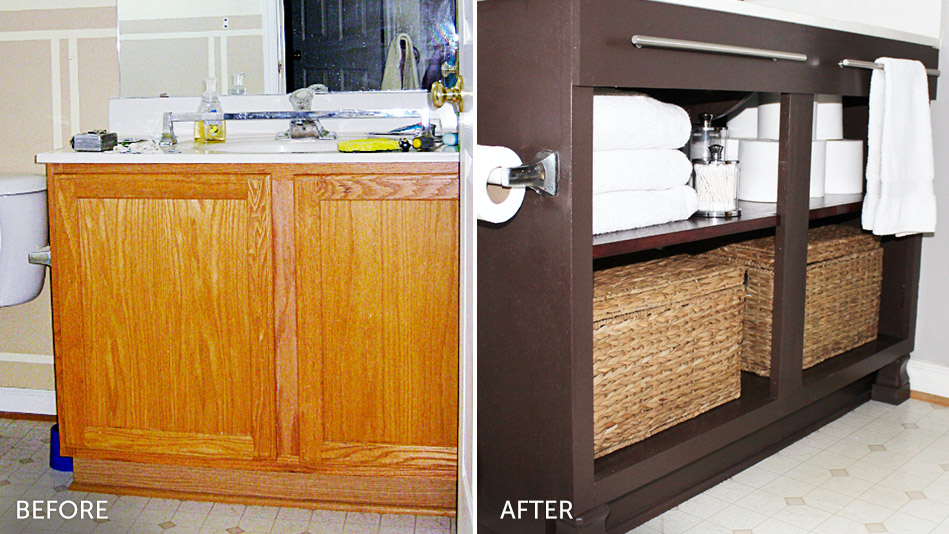 7 Incredibly Easy Bathroom Makeovers