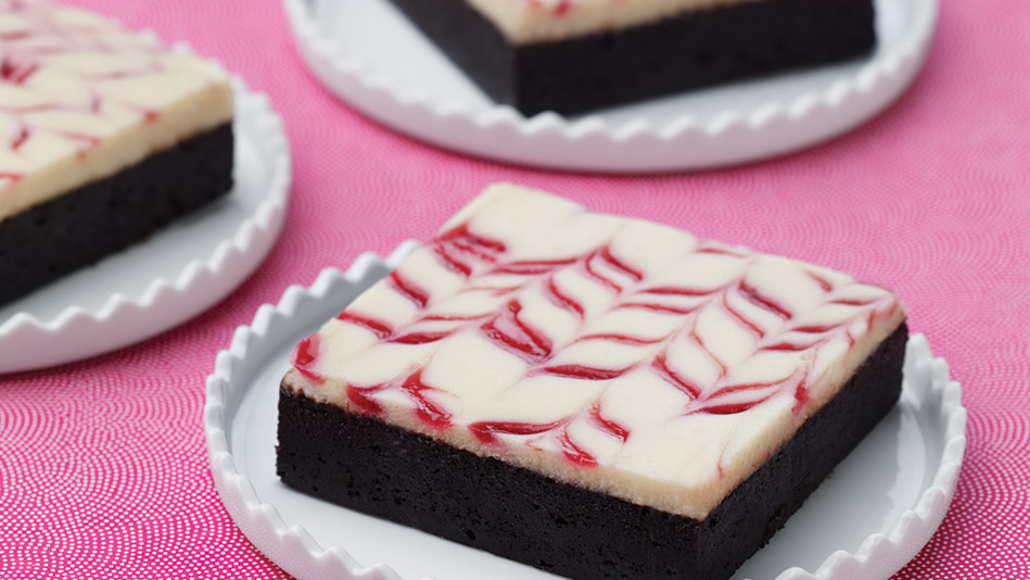 Raspberry Ripple Cheesecake Brownies