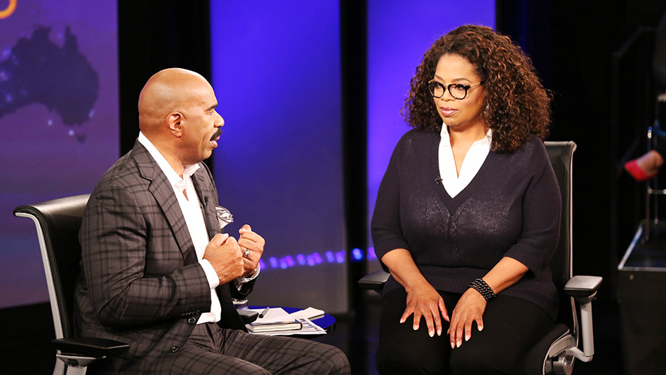 How Oprah and Steve Harvey Learned to Deal with Haters - Video