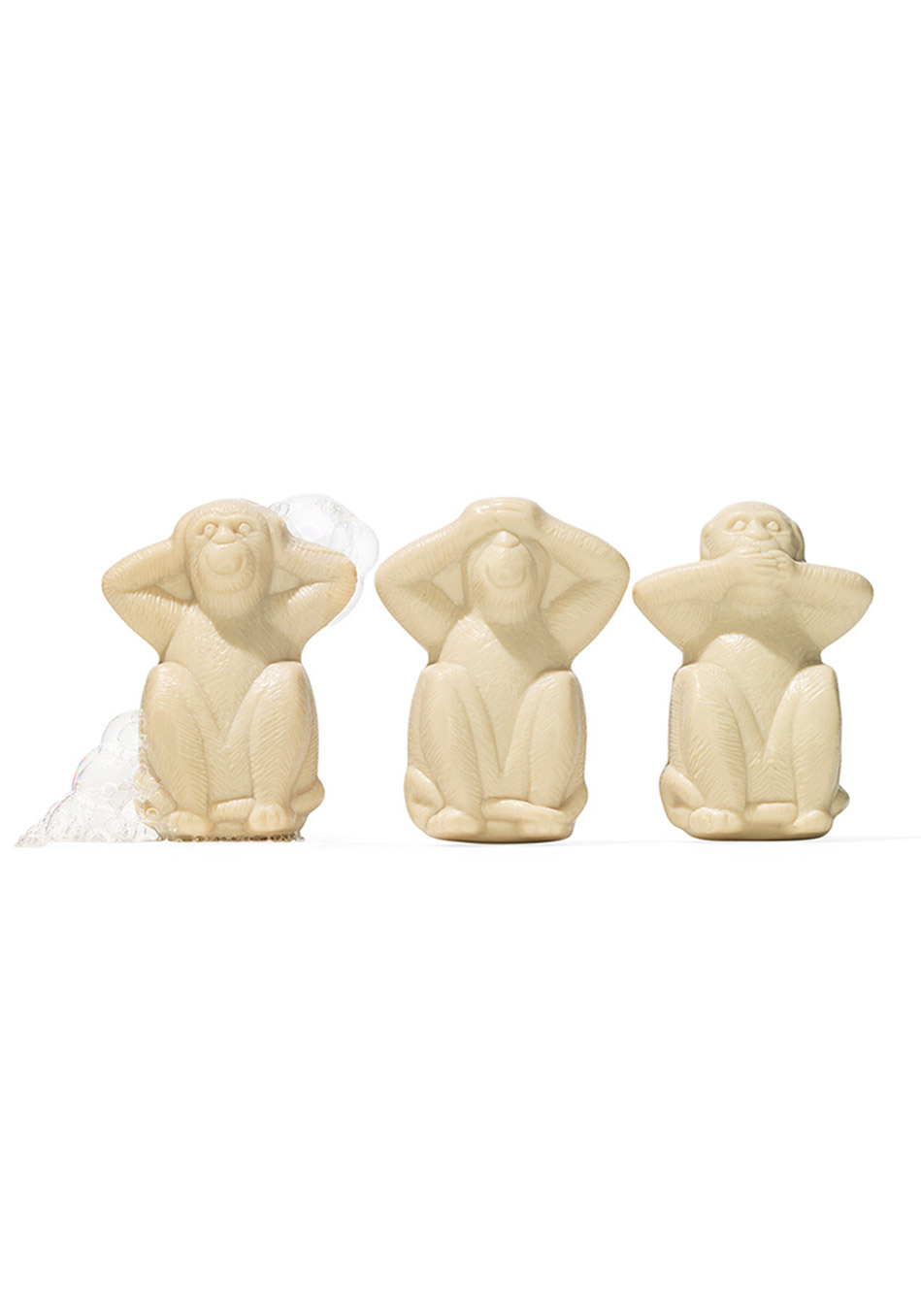 "Three Wise Monkeys ""Trois Singes"" Soaps"