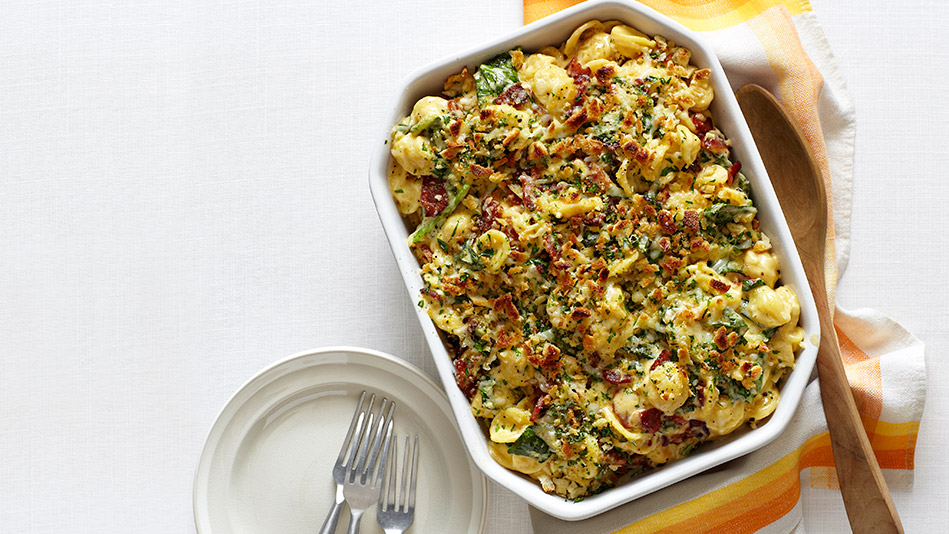 Mac and Cheese with Greens Recipe