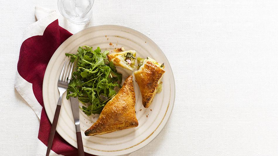 Ina Garten's Ham and Leek Empanadas