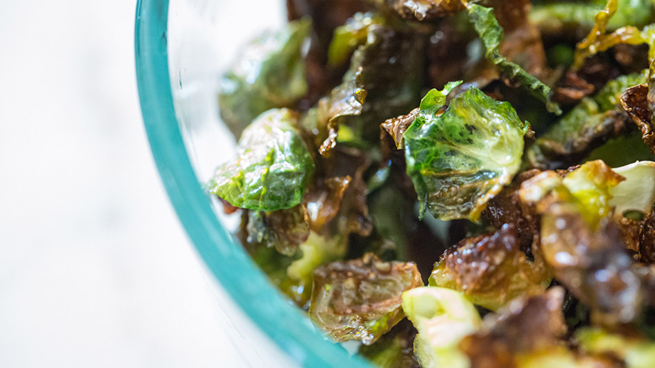 Roasted Brussels-Sprouts Chips