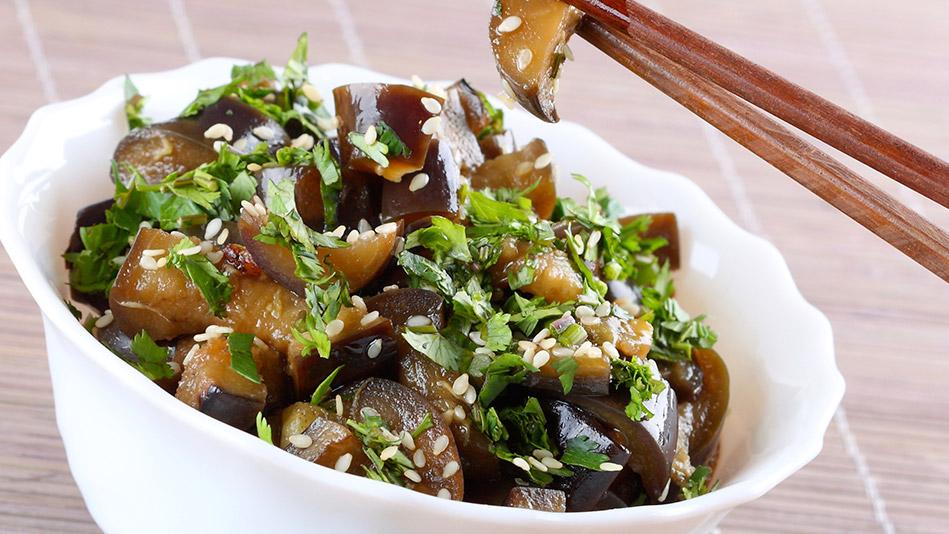 Japanese Eggplant Stir-Fry