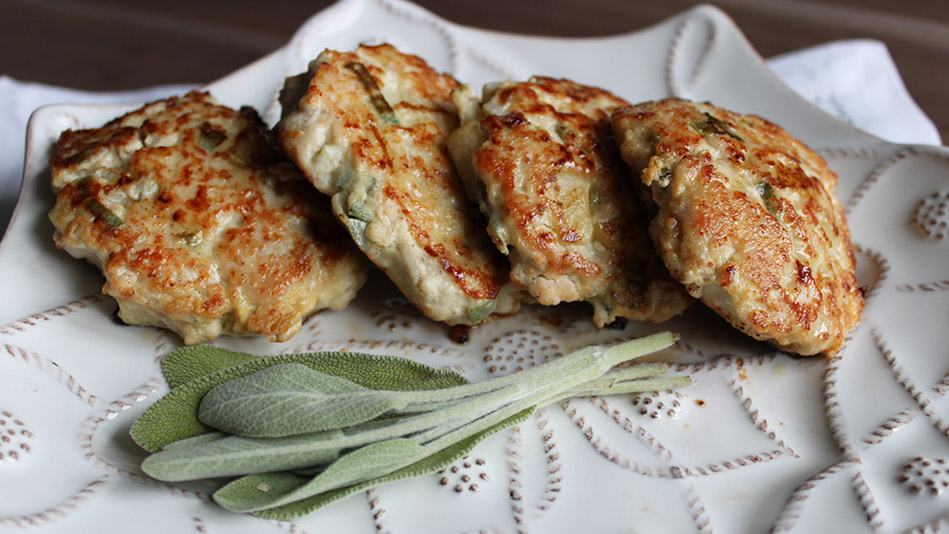 Recipe for chicken sausage patties