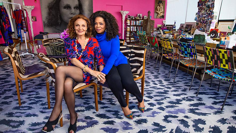 Oprah Talks to Diane von Furstenberg