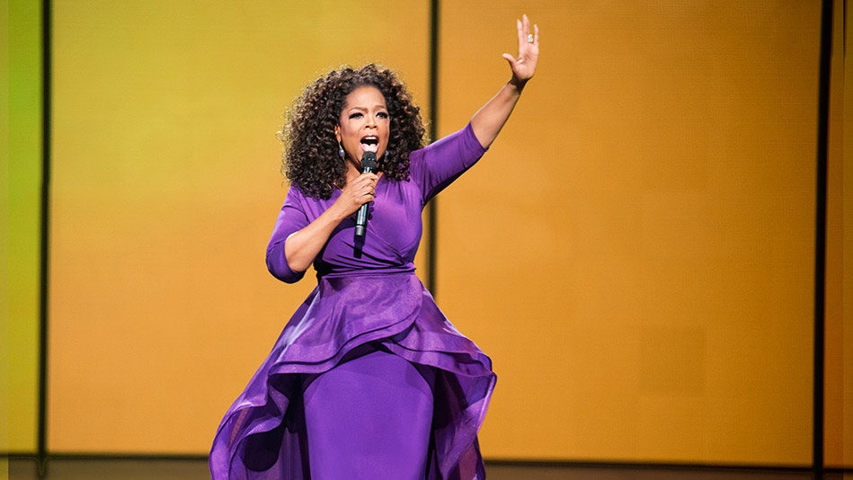 Oprah's Life-Affirming Experience