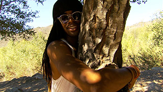 Uncle Spirit Pushes Tree Hugging