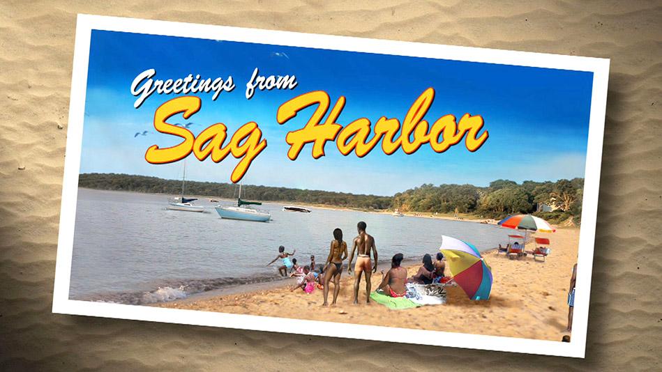 Sag Harbor postcard