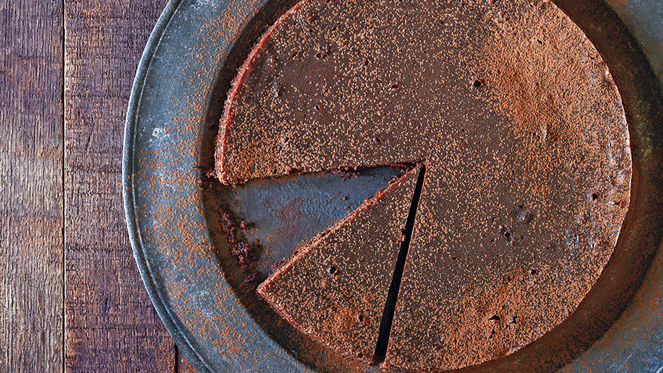 Chocolate-Cherry Torte