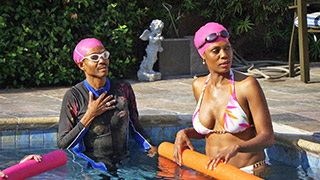 Can Wendell and Omarosa Swim Floatie-Free?