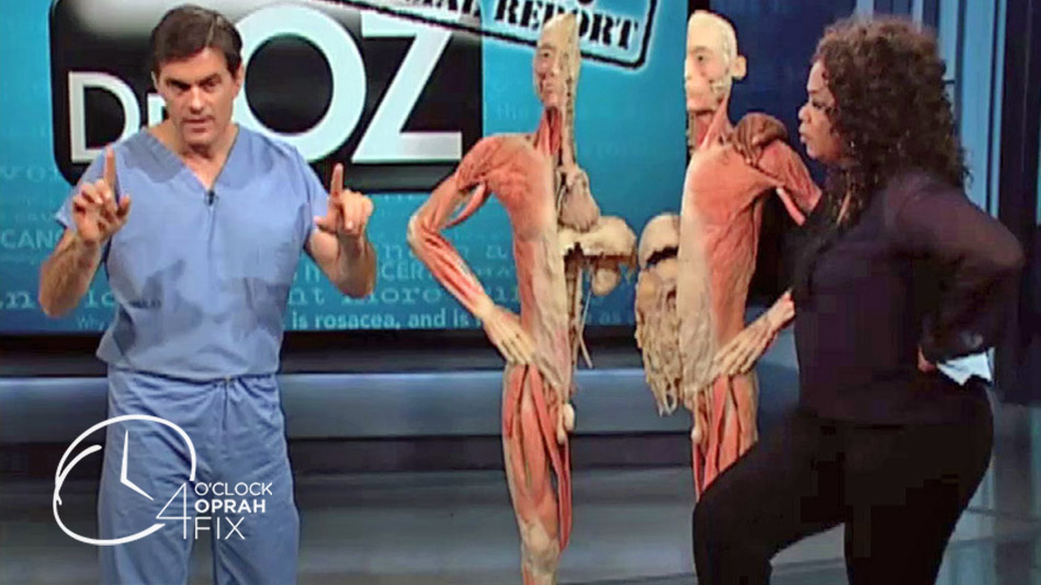 Dr  Oz Demonstrates How to Properly Pop a Pimple - Video