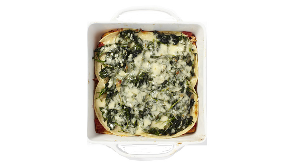 Layered Tortilla Casserole