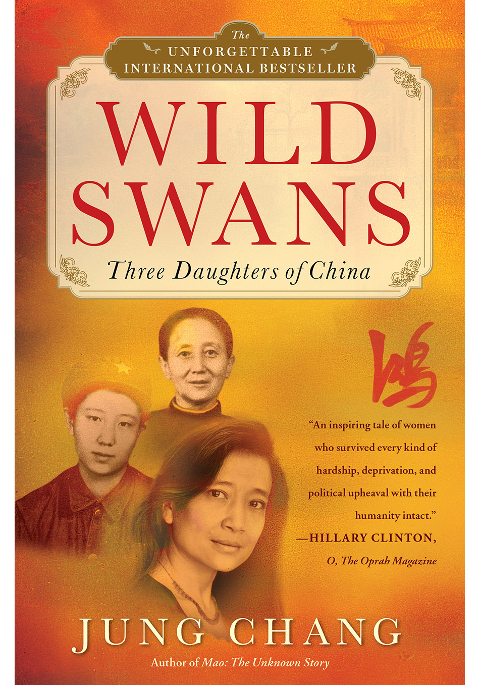wild swans about three child associated with china