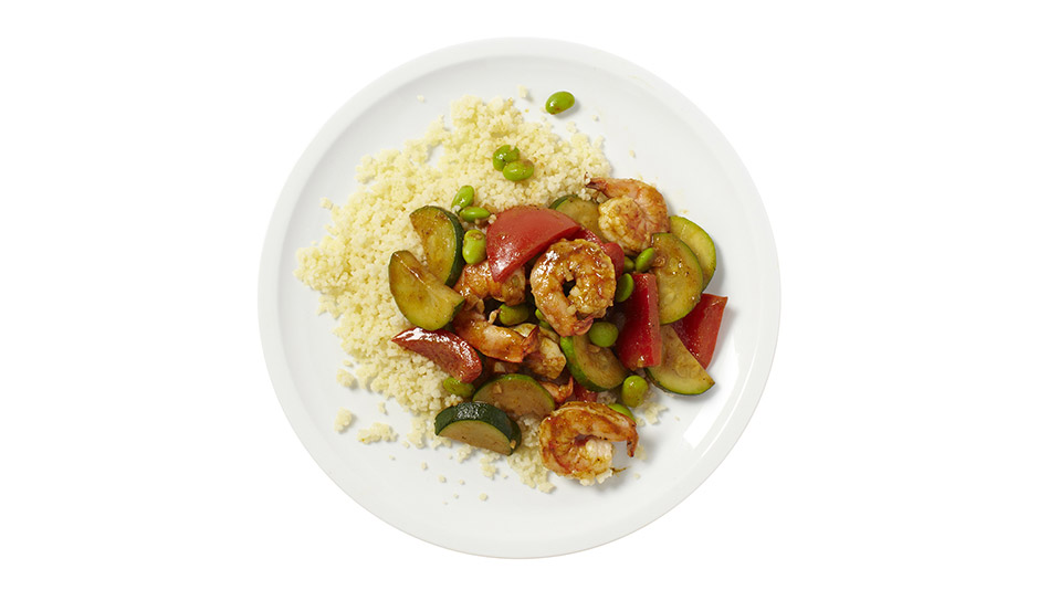 Curried Shrimp With Couscous Recipe