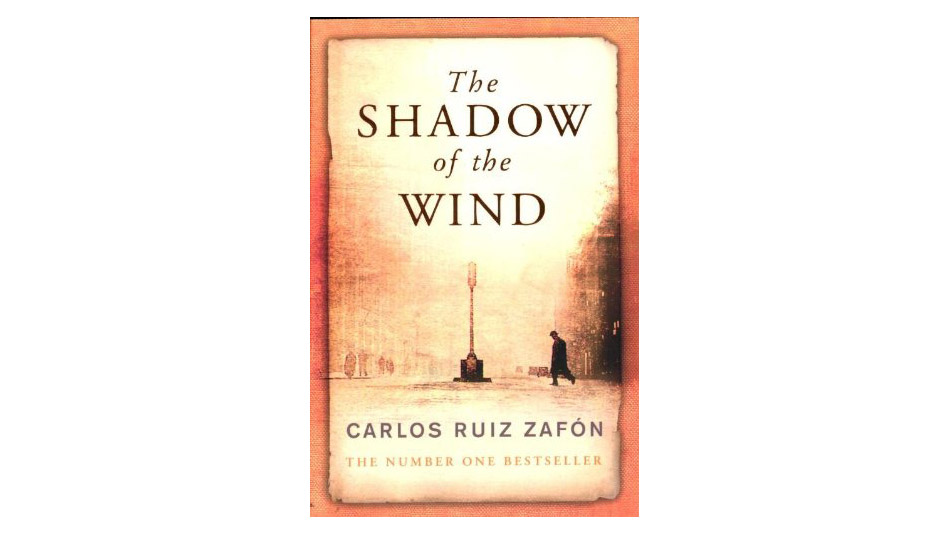 'The Shadow of the Wind' by Carlos Ruiz Zafón