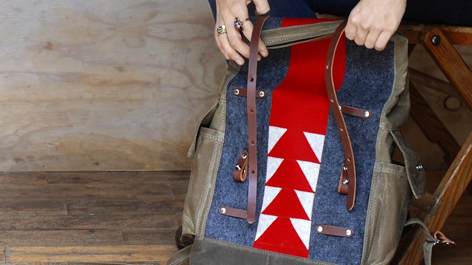 artistic backpacks