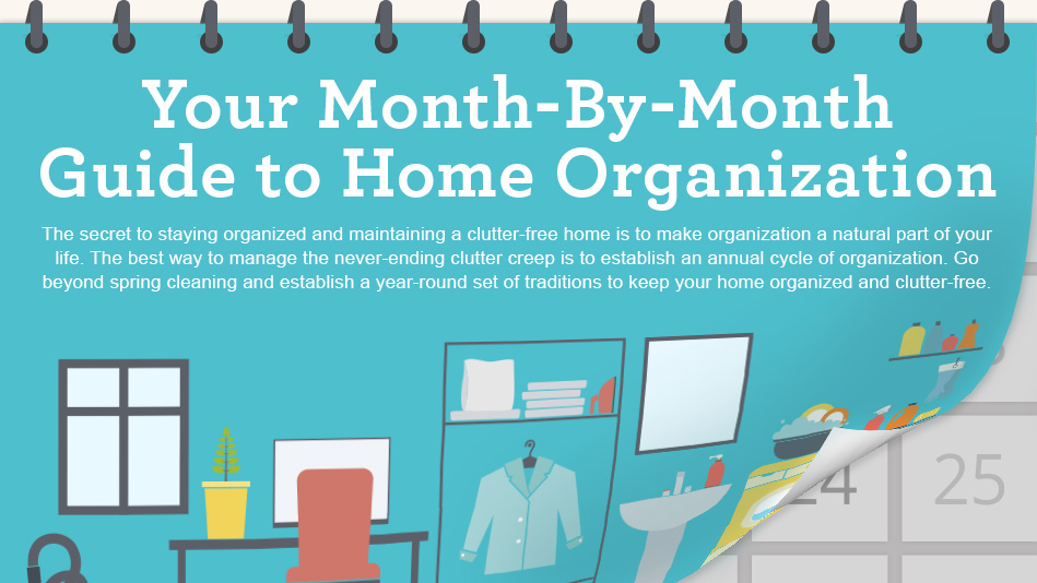 12 Steps to an Organized Home