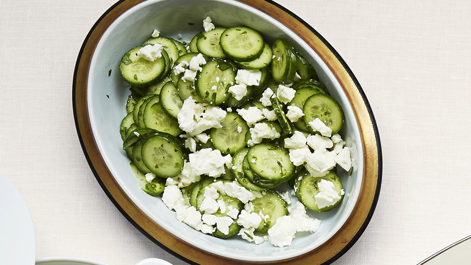 Cucumber Salad With Feta Recipe