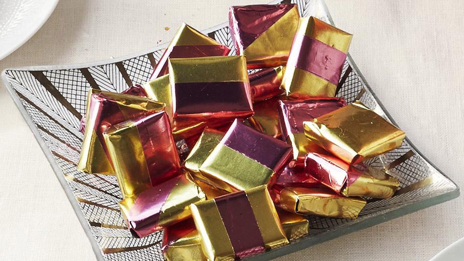 olive oil caramels