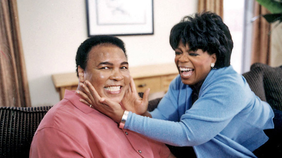 Muhammad Ali and Oprah