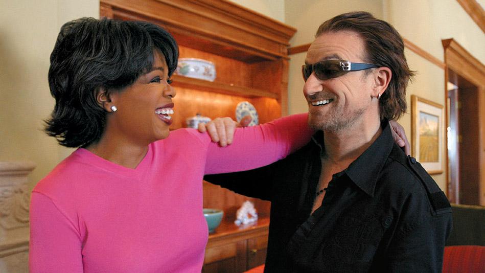Bono and Oprah