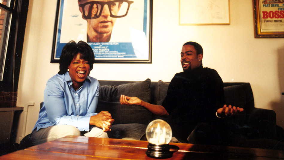 Oprah and Chris Rock