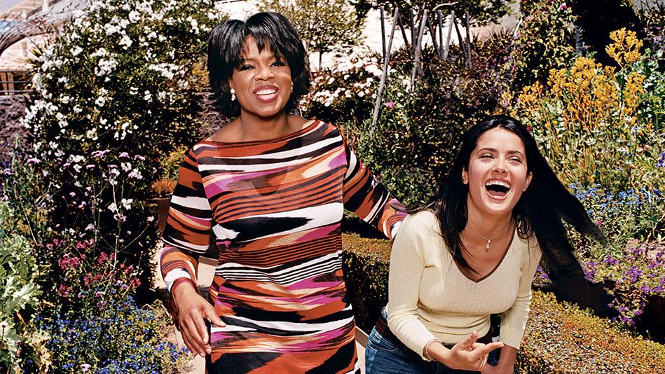 Oprah and Salma Hayek