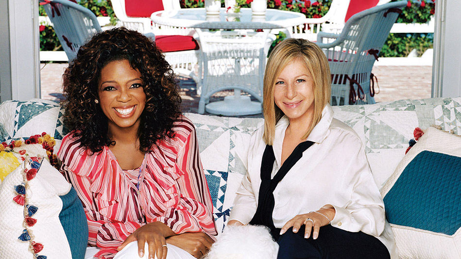 Oprah and Barbra Streisand