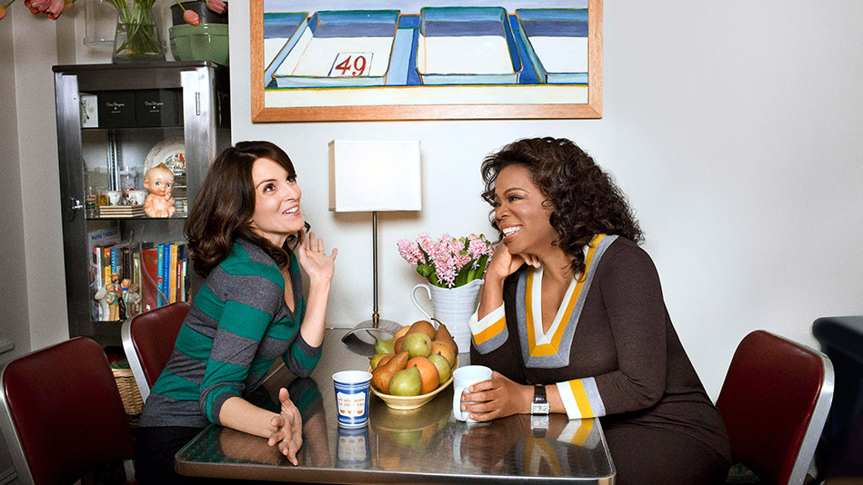Oprah Talks to Tina Fey
