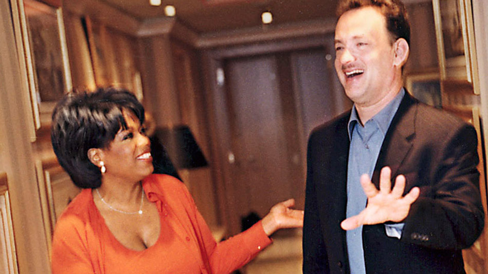 Oprah and Tom Hanks