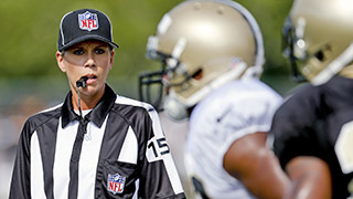 Meet Sarah Thomas, the NFL's First Full-Time Female Official