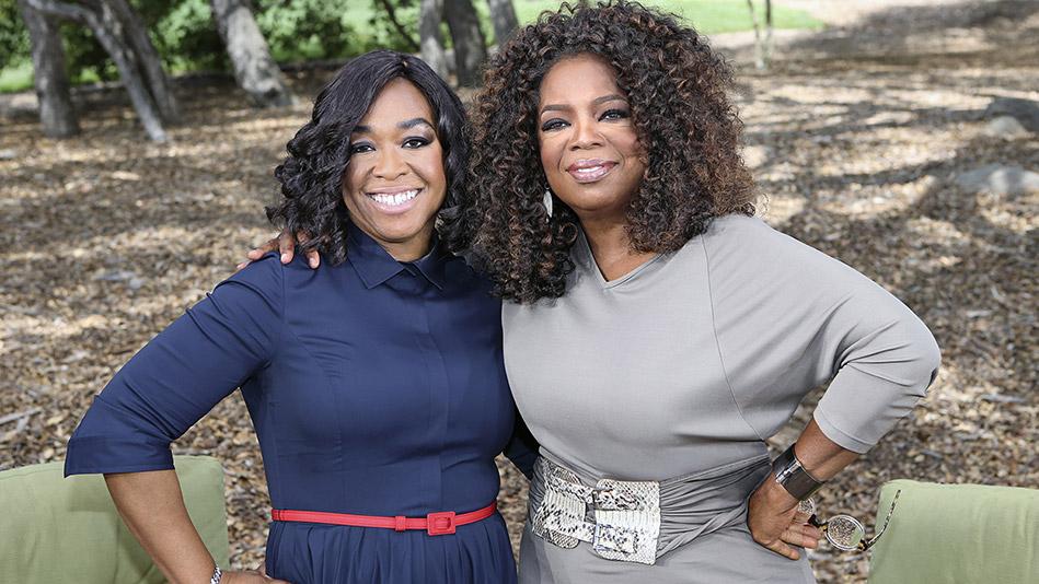 Oprah Winfrey and Shonda Rhimes