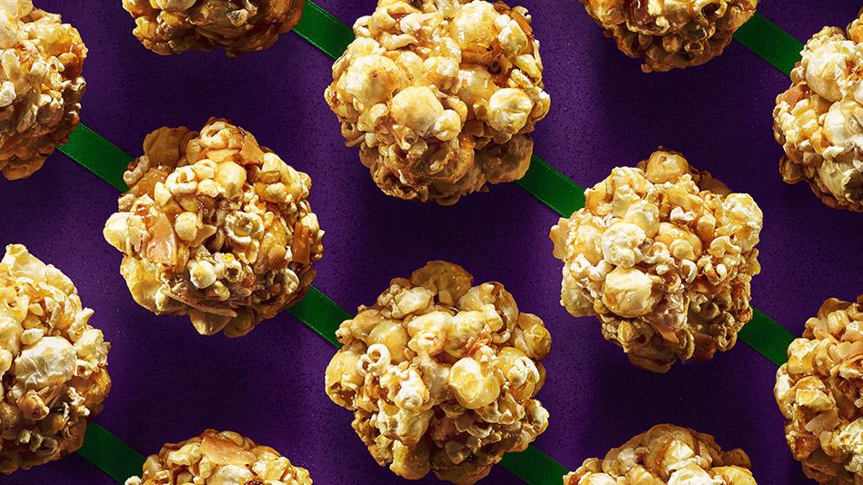 Chai-Coconut Popcorn Treats Recipe