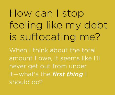 Embarassing Debt Questions
