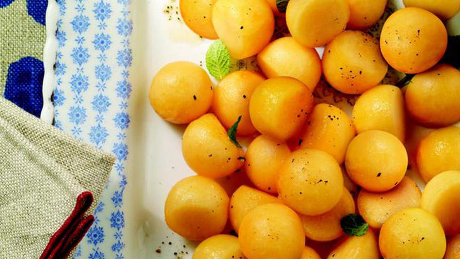 Cantaloupe Balls
