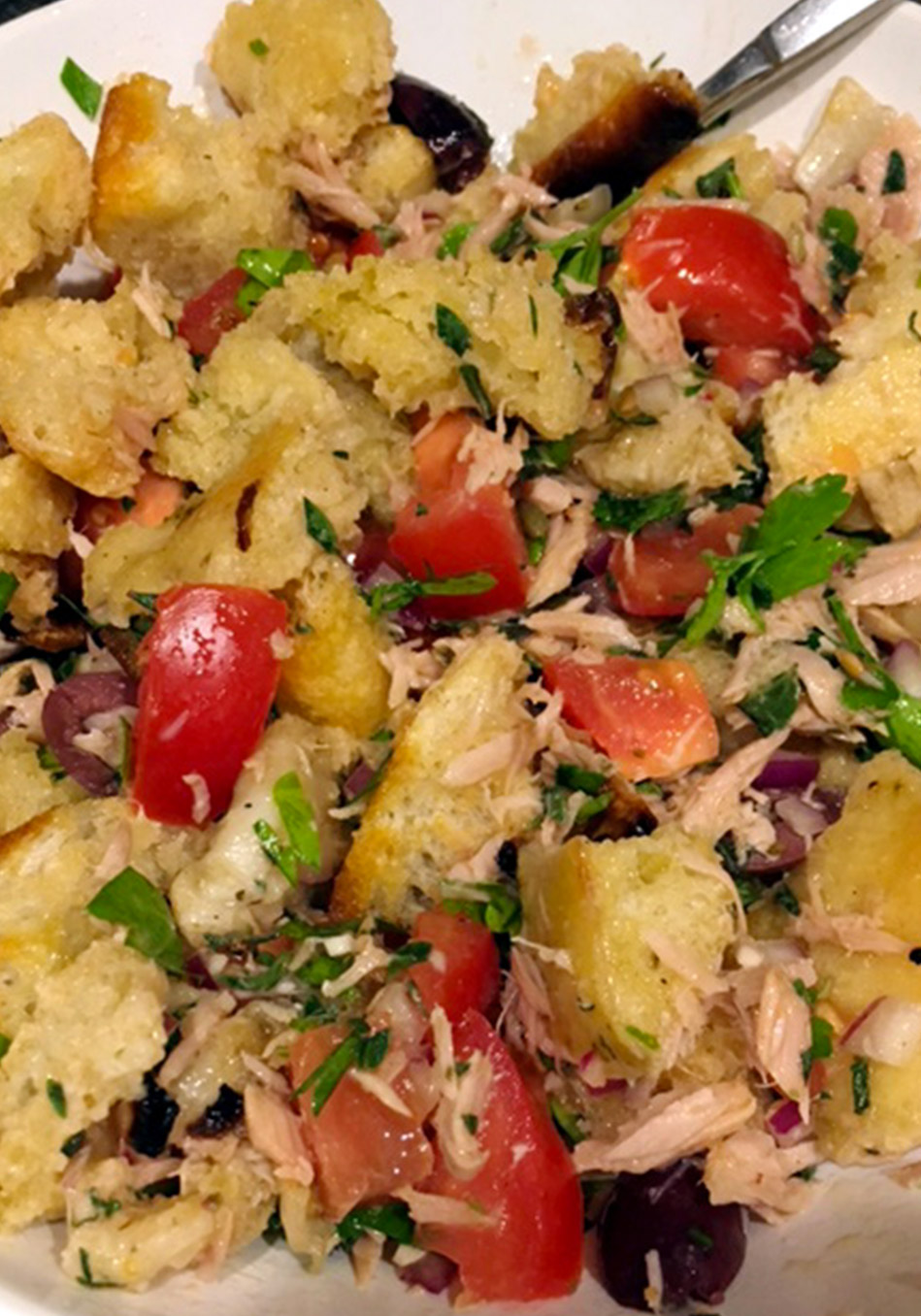 Italian Panzanella Recipe Salad