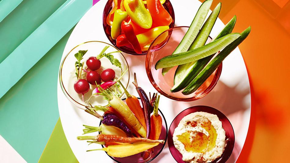 How to Make the Boring Vegetable Platter So Much Better