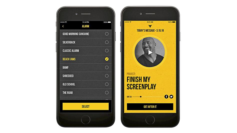 dwayne johnson app
