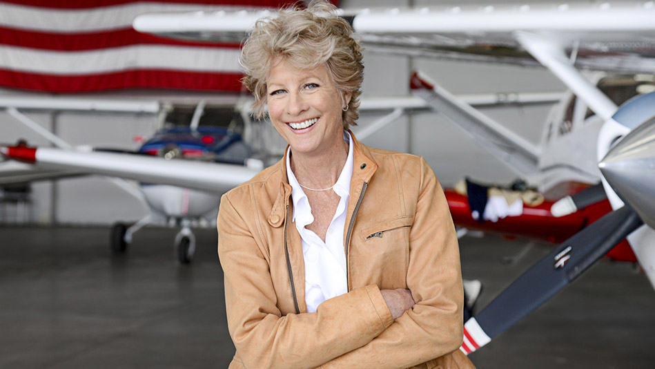 61-Year-Old Pilot and Mom MJ Marggraff