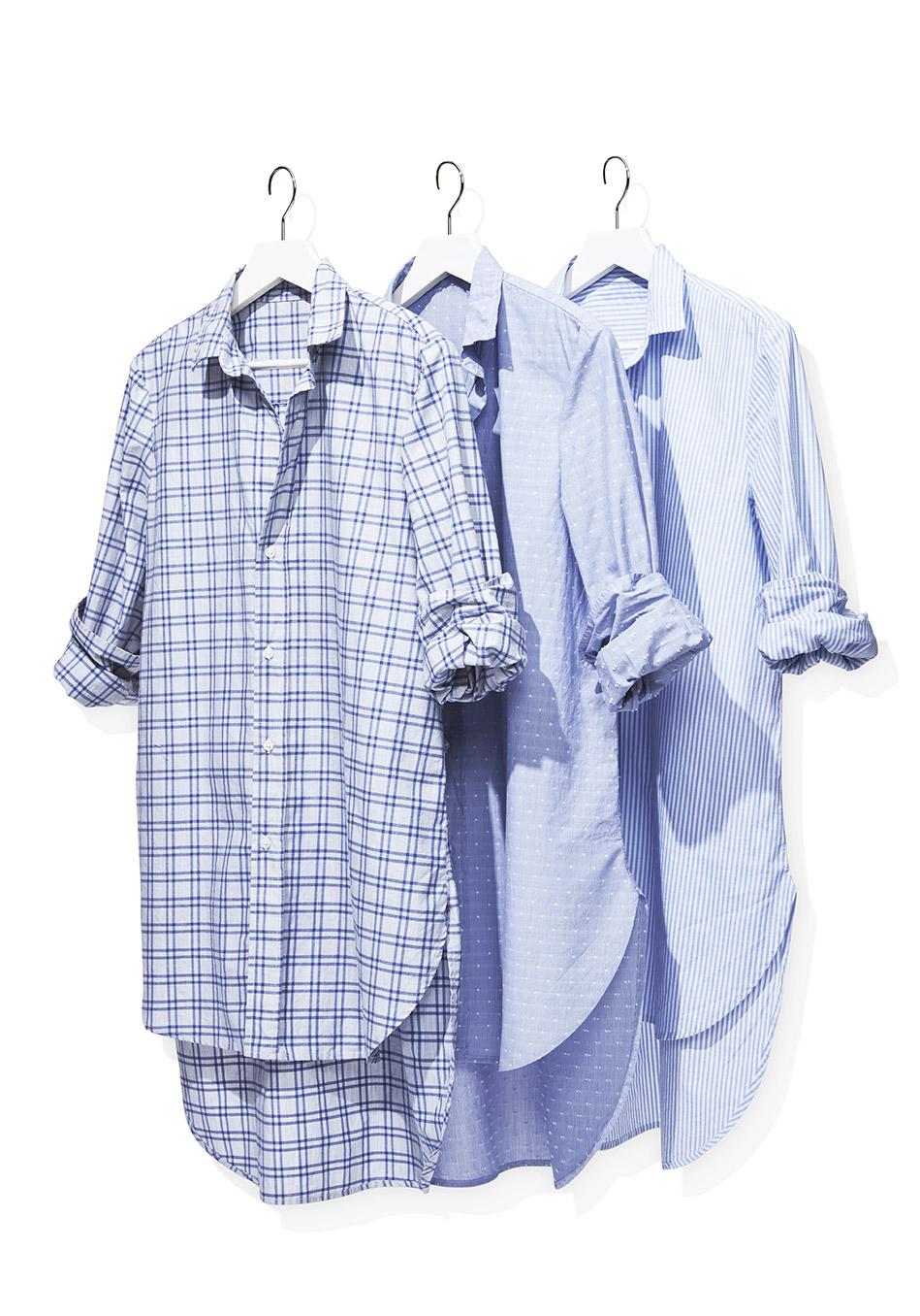 August 2016 O List Frank Eileen Grayson Shirts