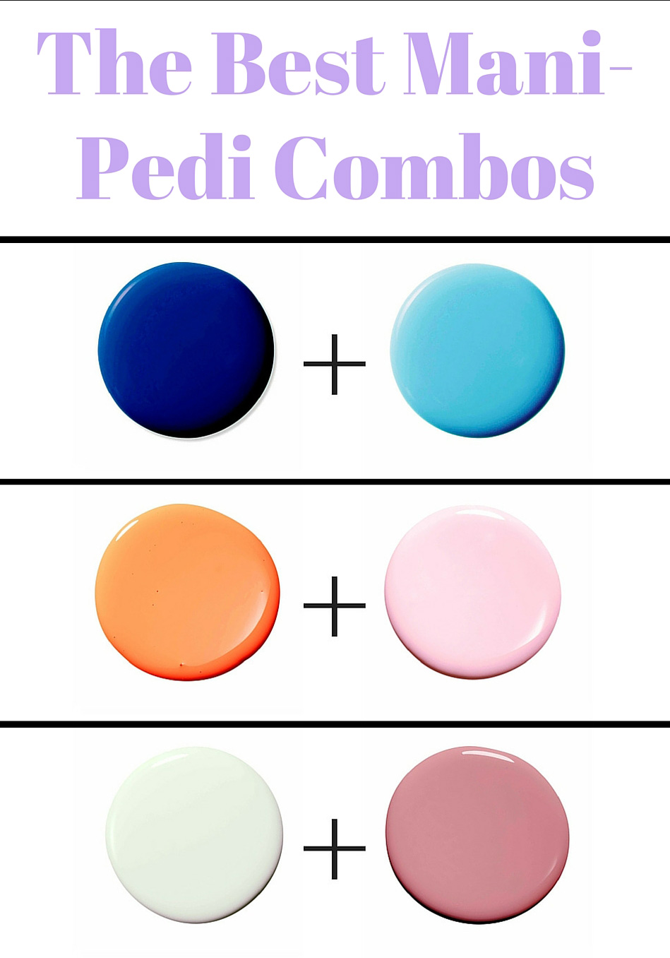Mani-Pedi Color Combos