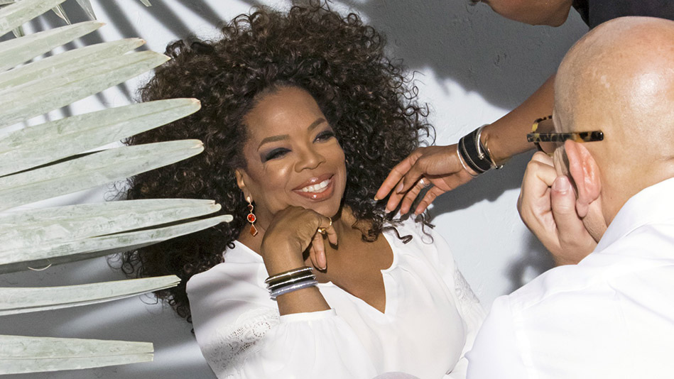 Behind the Scenes of Oprah's August 2016 Cover