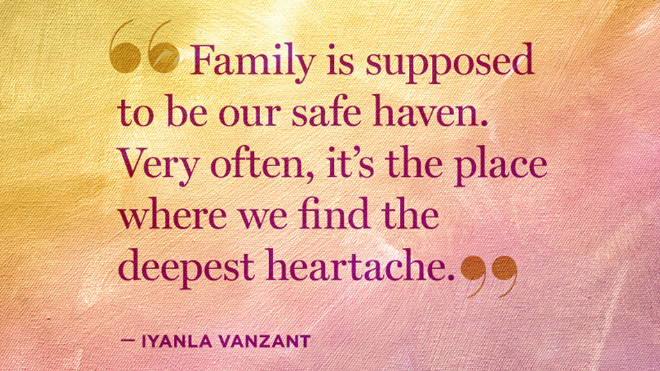 Quotes About Backstabbing Family Members: Iyanla Vanzant: 5 Thoughts To Remember During A Family