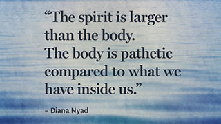 8 Can't-Quit Quotes from Swimmer Diana Nyad