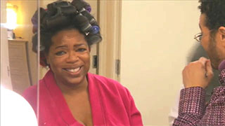 Oprah Gets Ready for Her Final Show Taping